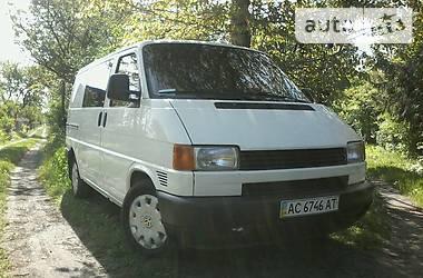 Volkswagen T4 (Transporter) пасс. 65квт 1999