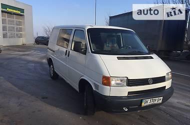 Volkswagen T4 (Transporter) пасс. 2.5 65кв 1999