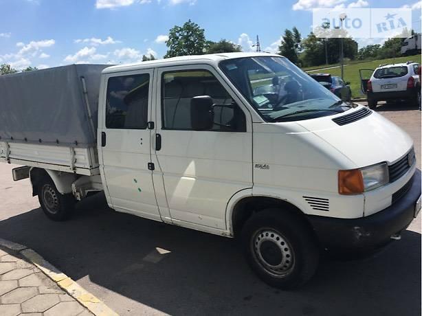 Volkswagen Transporter 1999 года