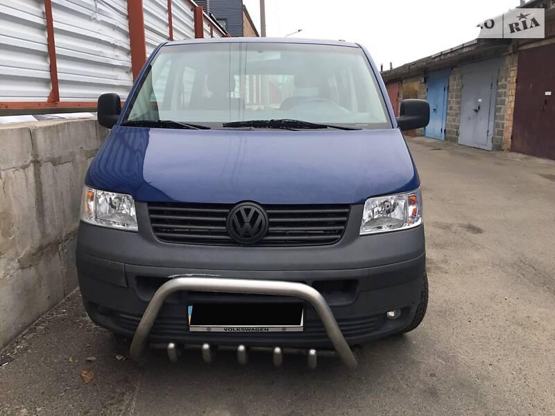Универсал Volkswagen T5 (Transporter) груз-пасс.