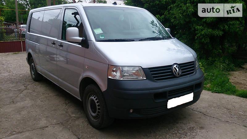 Volkswagen T5 (Transporter) груз