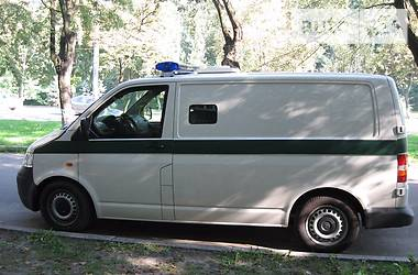 Volkswagen T5 (Transporter) груз  2012