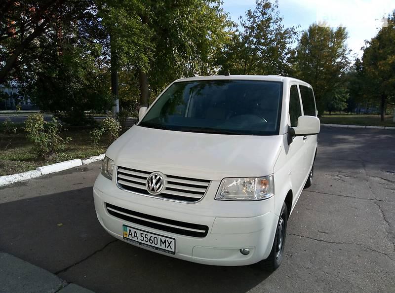 Универсал Volkswagen T5 (Transporter) пасс.