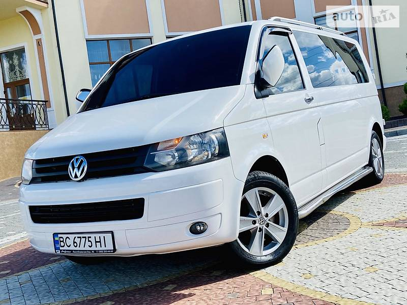 Седан Volkswagen T5 (Transporter) пасс.