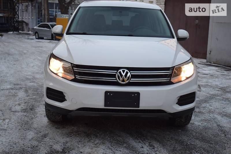 Volkswagen Tiguan 2013 года