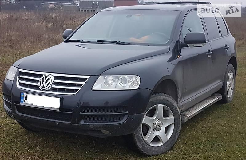 Volkswagen Touareg 2004 года