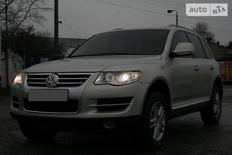 Volkswagen Touareg 2008 года