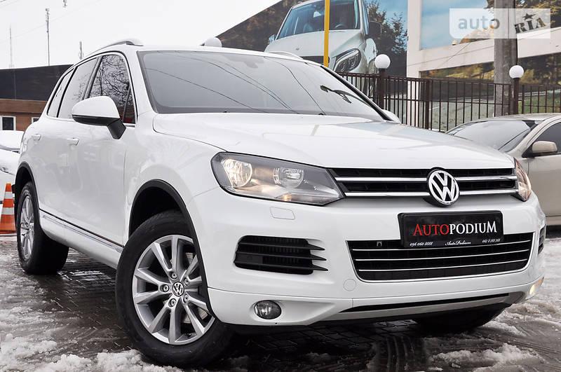 Volkswagen Touareg 2013 года