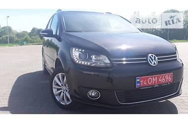 Volkswagen Touran 110kw HIGHLINE 2014