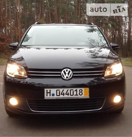Volkswagen Touran 2013 года