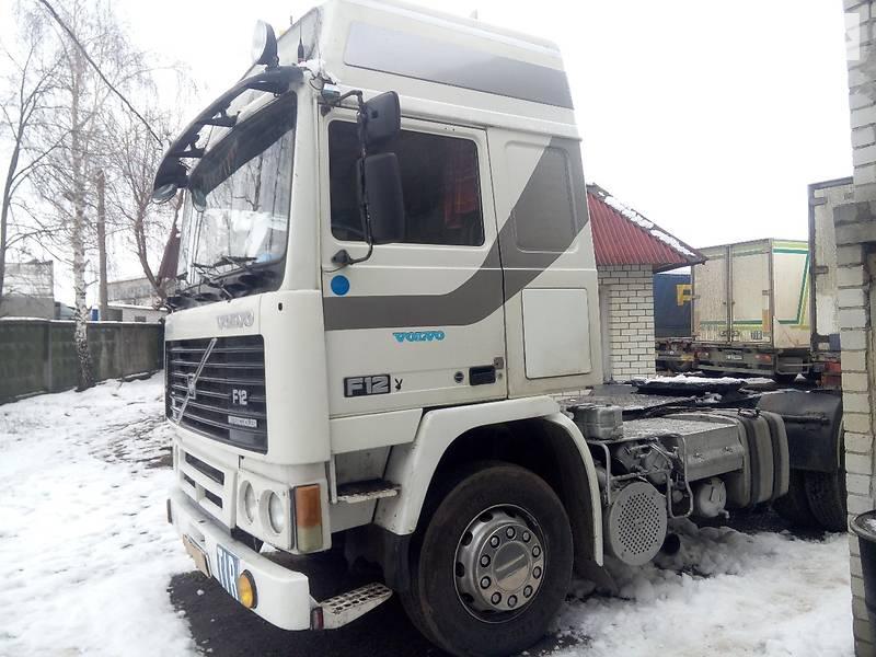 вольво f12 тягач 90-93года украина