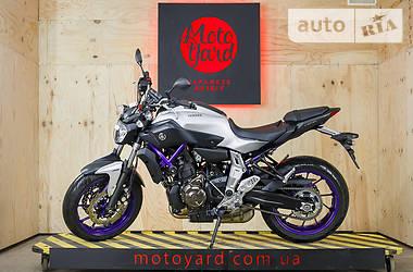 Yamaha MT 07 2016