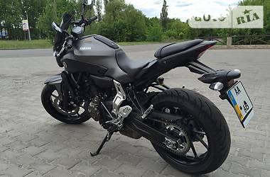 Yamaha MT 07A 2016
