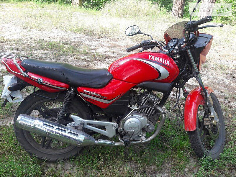 Auto ria ybr 125 2006 750 for Yamaha clp 120 specification