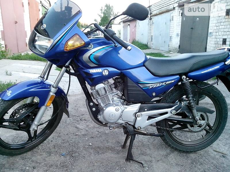 Auto ria ybr 125 2008 1300 for Yamaha clp 120 specification