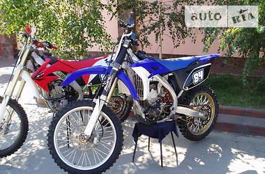 Yamaha YZF YZ 250F 2010