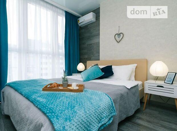 двухкомнатная квартира в Киеве, район Дарницкий, на ул. Драгоманова в аренду на короткий срок посуточно фото 1