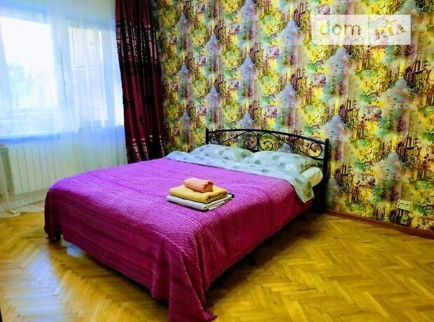 однокомнатная квартира в Киеве, район Оболонский, на ул. Вышгородская 50 в, в аренду на короткий срок посуточно фото 1