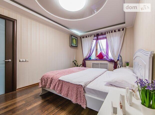 двокімнатна квартира в Києві, район Печерський, на Лаврская 4, в оренду на короткий термін подобово фото 1