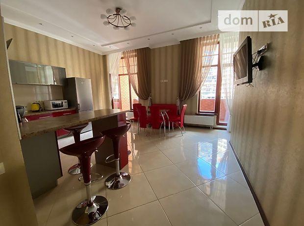 двухкомнатная квартира в Одессе, район Аркадия, на ул. Генуэзская 36, в аренду на короткий срок посуточно фото 1