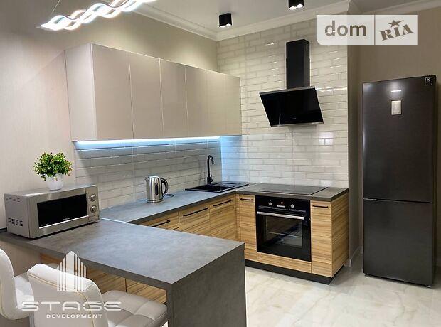 однокомнатная квартира в Одессе, район Приморский, на ул. Курчатова в аренду на короткий срок посуточно фото 1