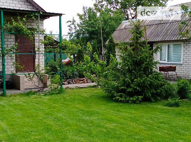 одноповерхова дача біля річки, 45 кв. м, цегла. Здається помісячно в село Рожни, Київська обл. фото 1