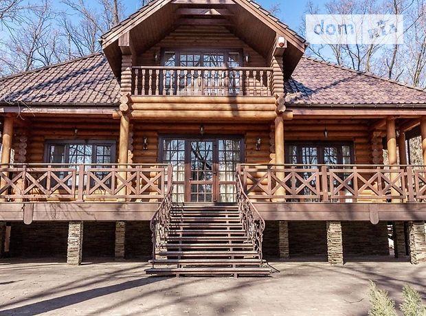 двухэтажный дом с мебелью, 502 кв. м, сруб. Сдается помесячно в село Гора, Киевская обл. фото 1