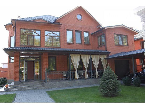 двухэтажный дом с камином, 325 кв. м, кирпич. Сдается помесячно в село Гора, Киевская обл. фото 1