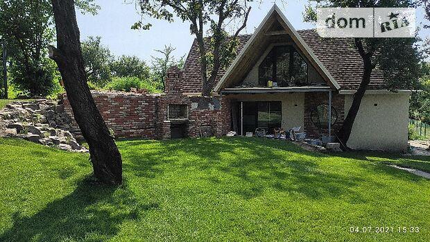 двухэтажный дом с камином, 81 кв. м, газобетон. Сдается помесячно в Днепре, в районе Рыбальское фото 1