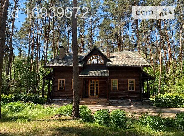 двухэтажный дом с камином, 240 кв. м, сруб. Сдается помесячно в село Прохоровка, Черкасская обл. фото 1