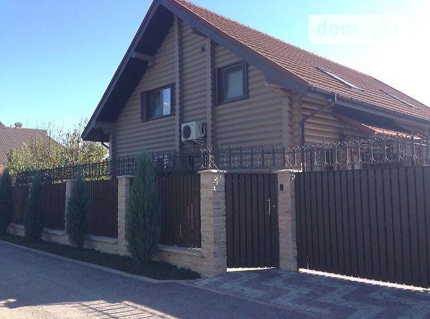 двухэтажный дом с камином, 150 кв. м, сруб. Сдается помесячно в село Чапаевка, Киевская обл. фото 1