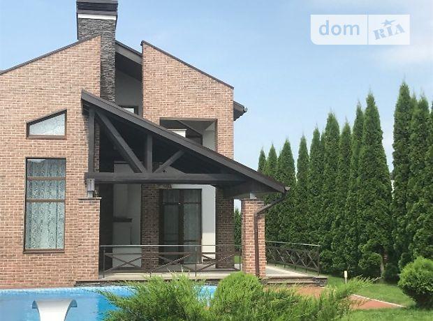 двухэтажный дом с камином, 380 кв. м, кирпич. Сдается помесячно в село Лесники, Киевская обл. фото 1