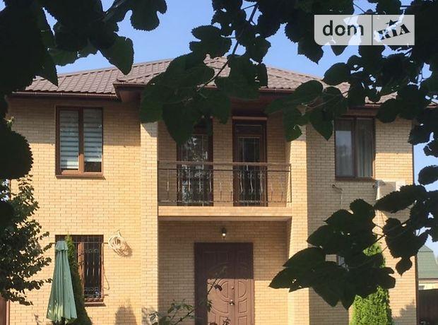 двухэтажный дом с балконом, 200 кв. м, кирпич. Сдается помесячно в село Тарасовка, Киевская обл. фото 1