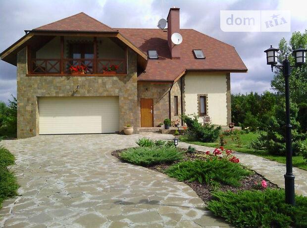 двухэтажный дом с камином, 500 кв. м, кирпич. Сдается помесячно в Макарове, в районе Березовка фото 1
