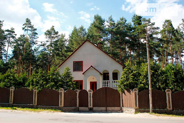 двухэтажный дом с камином, 250 кв. м, кирпич. Сдается помесячно в село Романков, Киевская обл. фото 1