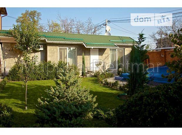 одноэтажный дом с ремонтом, 60 кв. м, кирпич. Сдается помесячно в Одессе, в районе Большой Фонтан фото 1