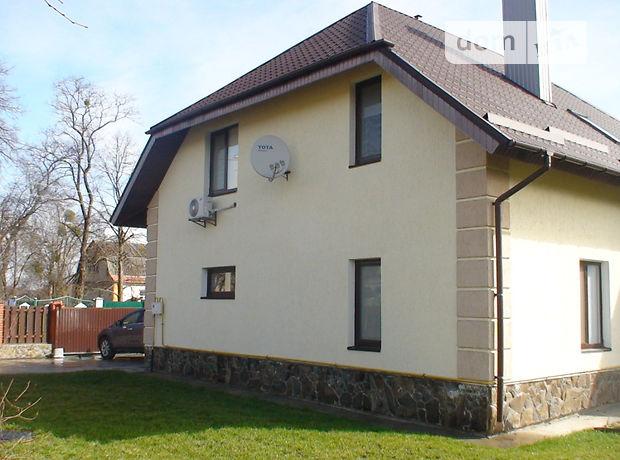 двухэтажный дом с камином, 190 кв. м, кирпич. Сдается помесячно в Василькове, в районе Борисов фото 1