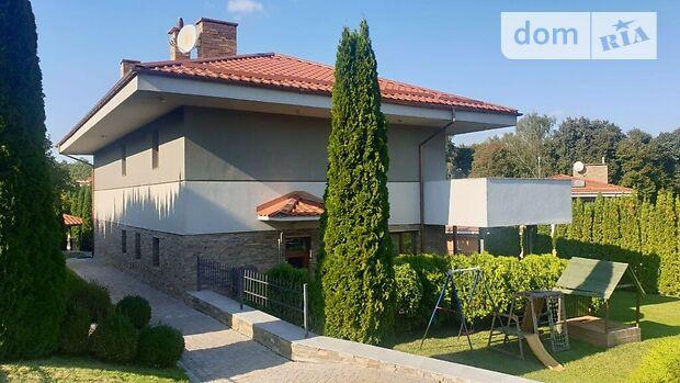 двухэтажный дом с камином, 240 кв. м, кирпич. Сдается помесячно в село Иванковичи, Киевская обл. фото 1