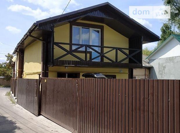 двухэтажный дом с балконом, 130 кв. м, пеноблок. Сдается помесячно в Василькове, в районе Васильков фото 1