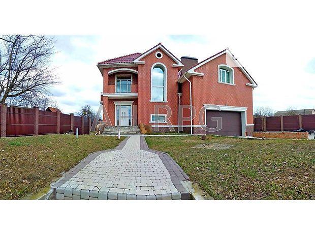 трехэтажный дом, 600 кв. м, кирпич. Сдается помесячно в село Глебовка, Киевская обл. фото 1