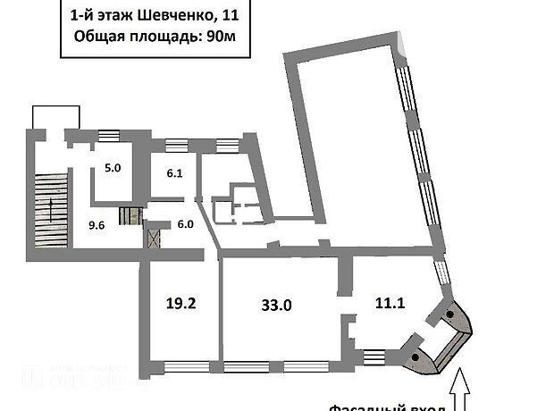 Бар, кафе, ресторан в Чернигове, Шевченко улица 11, цена аренды: договорная за объект фото 1
