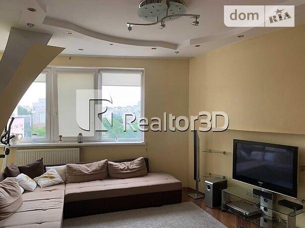 трикімнатна квартира з меблями в Дніпрі, район Центральний, на вул. Баумана 10 в довготривалу оренду помісячно фото 1