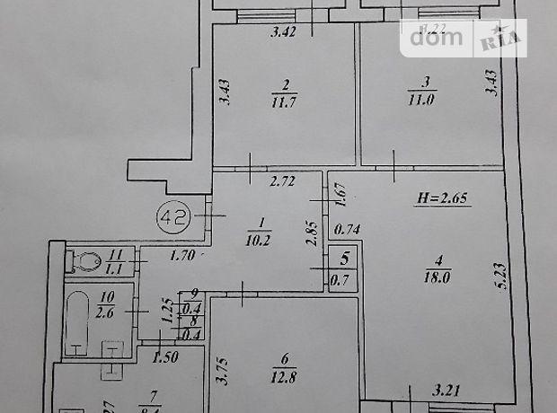 четырехкомнатная квартира с мебелью в Харькове, район Слободской, на Фесенковский въезд 12, в аренду на долгий срок помесячно фото 1