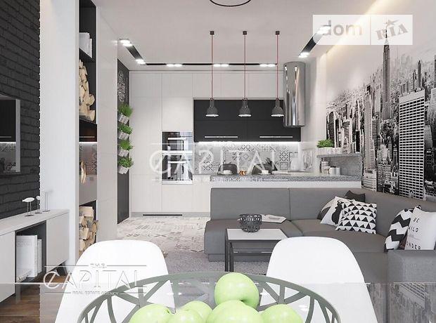 трехкомнатная квартира с мебелью в Киеве, на ул. Авиаконструктора Антонова 2б, в аренду на долгий срок помесячно фото 1