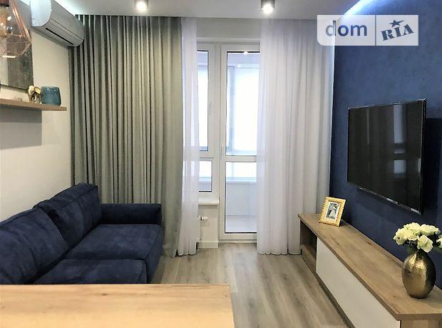 однокомнатная квартира с мебелью в Киеве, район Дарницкий, на ул. Заречная 1Б, в аренду на долгий срок помесячно фото 1