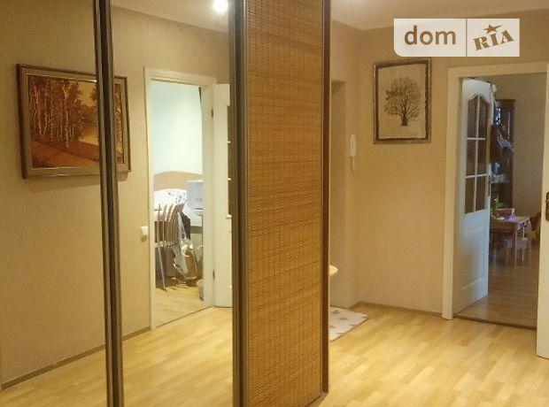 трехкомнатная квартира с мебелью в Киеве, район Днепровский, на наб. Днепровская 13, в аренду на долгий срок помесячно фото 1