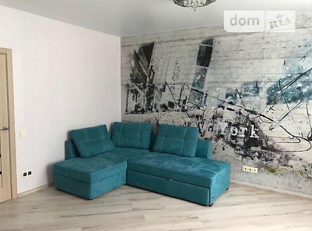 однокомнатная квартира с мебелью в Киеве, район Днепровский, на ул. Воскресенская 16, в аренду на долгий срок помесячно фото 1