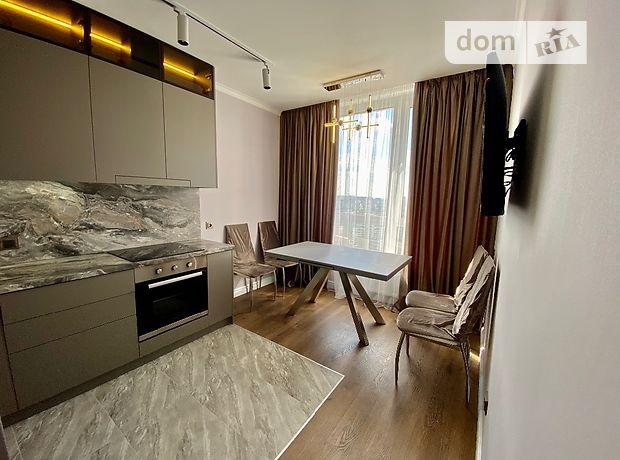 двухкомнатная квартира с мебелью в Киеве, район Днепровский, на Камянская 128, в аренду на долгий срок помесячно фото 1
