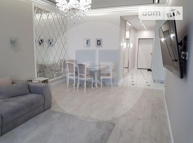 двухкомнатная квартира с мебелью в Киеве, район Голосеевский, на ул. Саксаганского 37к в аренду на долгий срок помесячно фото 1