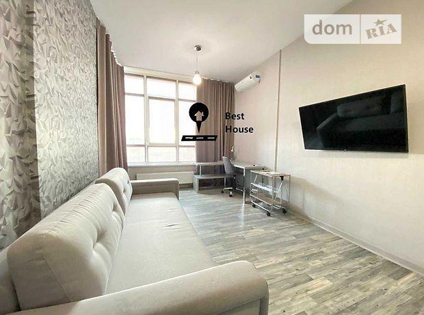 двухкомнатная квартира в Киеве, район Голосеевский, на Кудри в аренду на долгий срок помесячно фото 1
